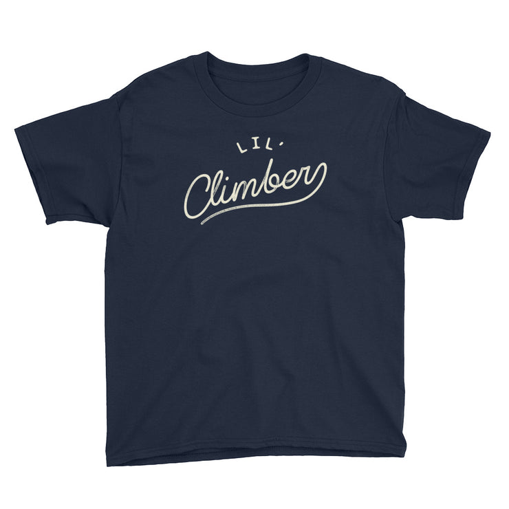 Lil' Climber - Boys - Youth Short Sleeve T-Shirt - NightSky