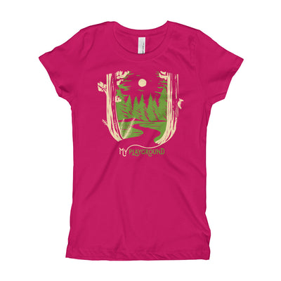 My Playground - Forest - Girls - Youth Short Sleeve T-Shirt