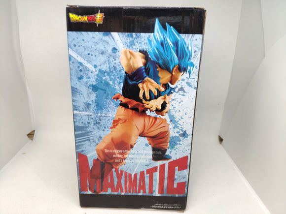 Goku Super Saiyan Blue Kamehameha Maximatic Dragon Ball Super Banpresto