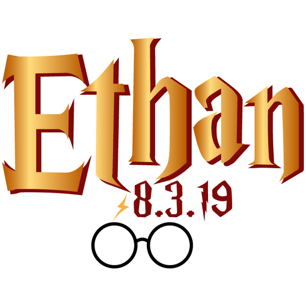 Harry Potter Bar Mitzvah Logo
