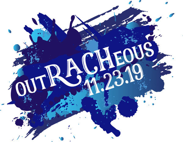 outRACHeous Bat Mitzvah Logo Design