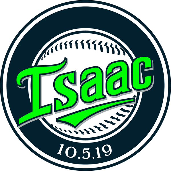 Baseball Bar Mitzvah Logo Design