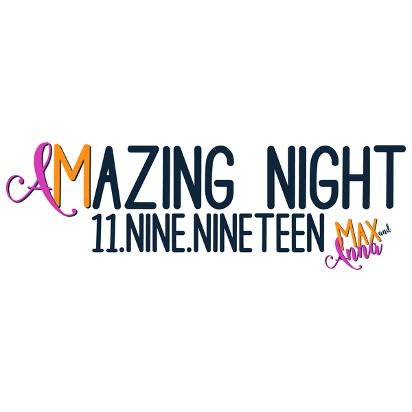 Amazing Night B'nai Mitzvah Logo Design