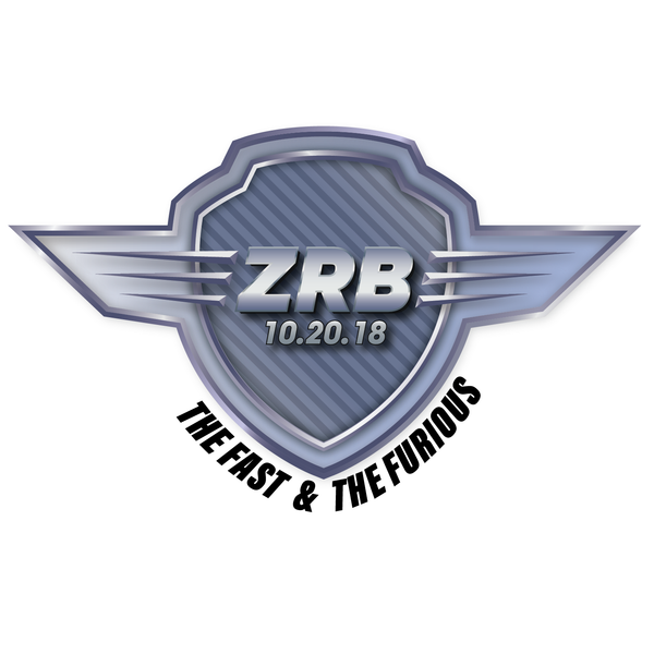 Fast and Furious Bar Mitzvah Logo