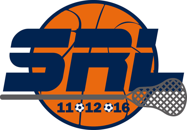 Lacrosse Basketball Soccer Bar Mitzvah Logo Design