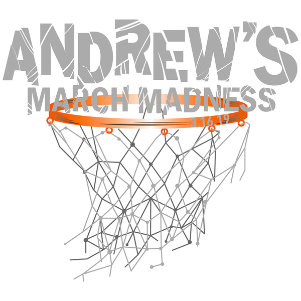 Basketball / March Madness Bar Mitzvah Logo