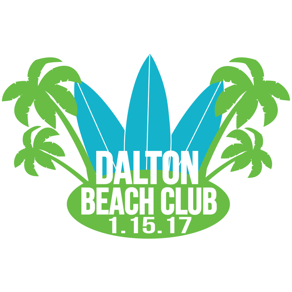 Beach Theme Mitzvah Logo