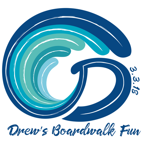Beach Wave Bar Mitzvah Logo Design