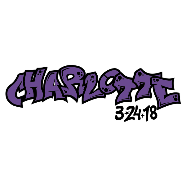 Graffiti Bat Mitzvah Logo Design