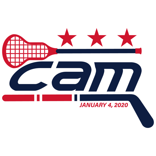 Lacrosse and Ice Hockey Bar Mitzvah Logo