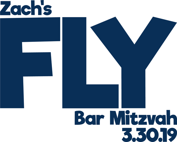 iFly Bar Mitzvah Logo Design