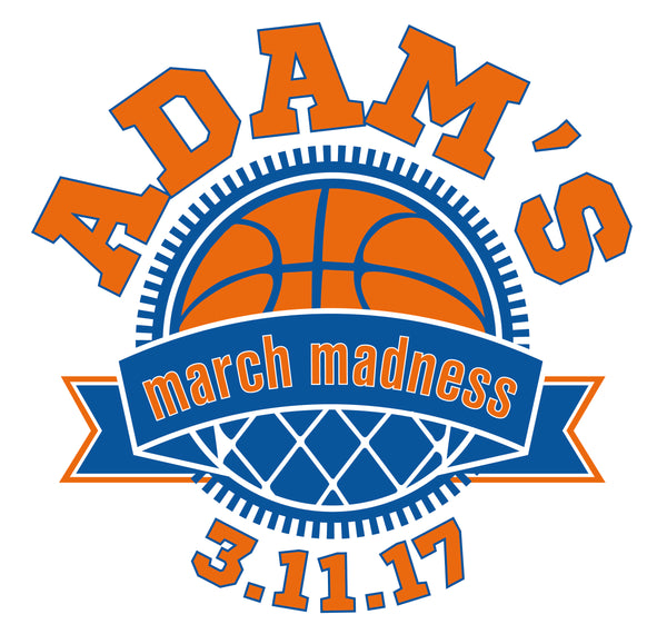 March Madness Bar Mitzvah Logo Design
