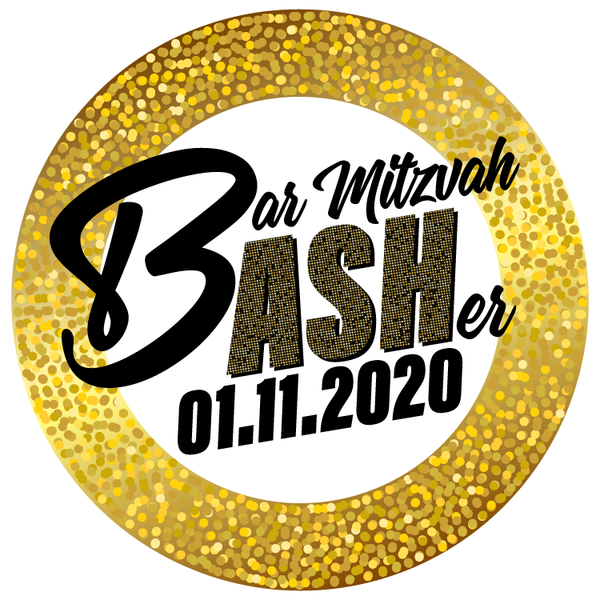 New Year's Eve Bar Mitzvah Logo
