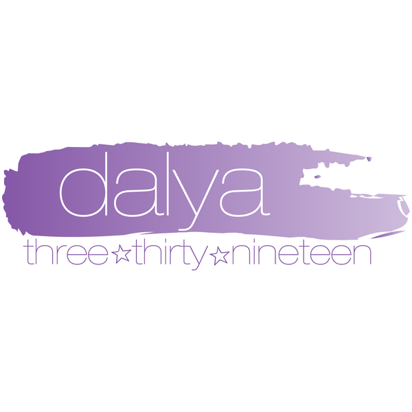 Ombre Paint Bat Mitzvah Logo Design