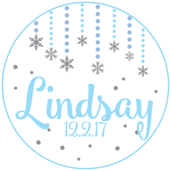 Winter Bat Mitzvah Logo Design