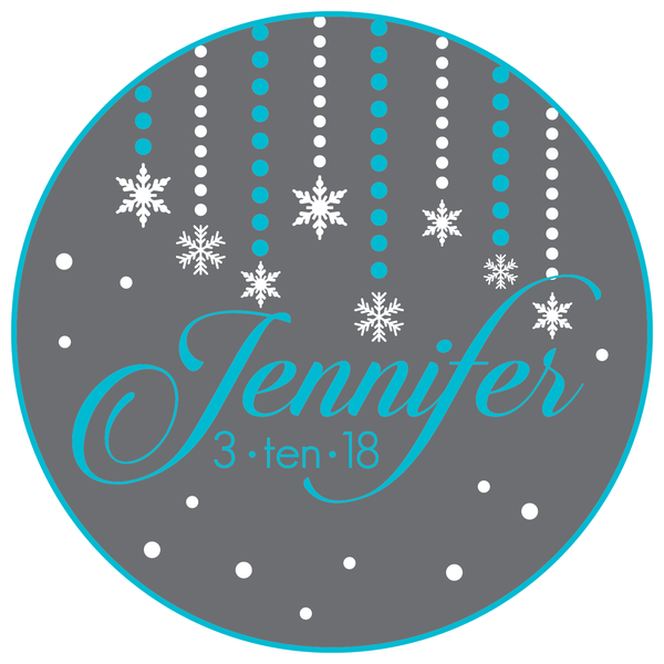Winter Wonderland Mitzvah Logo