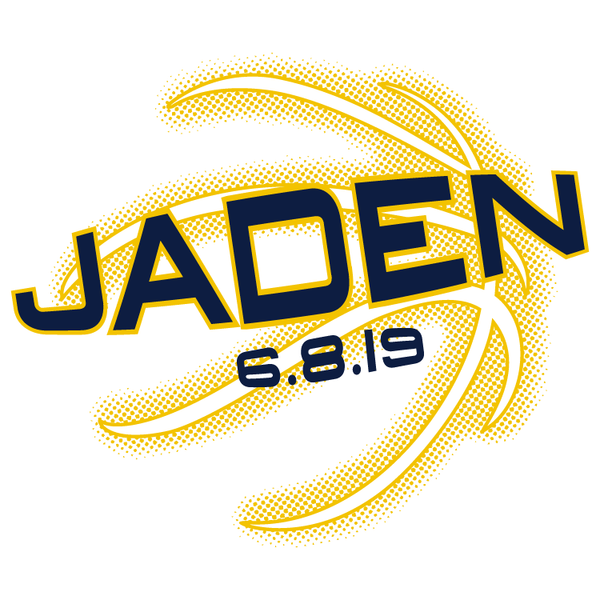 Basketball Bar Mitzvah Logo Design
