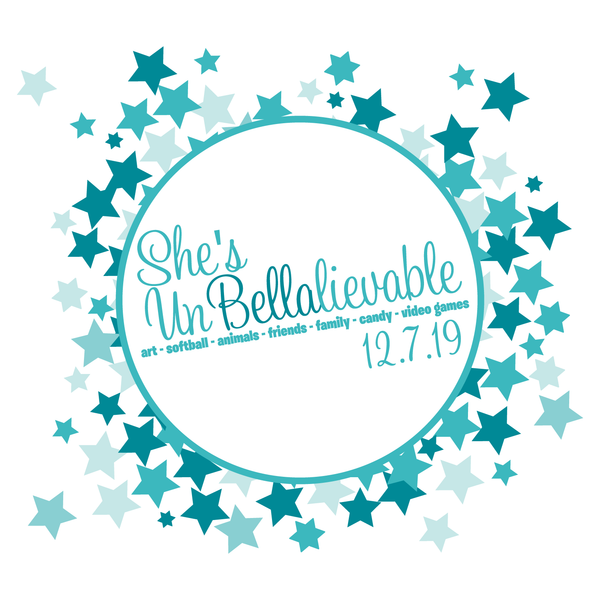 UnBellalievable bat mitzvah logo