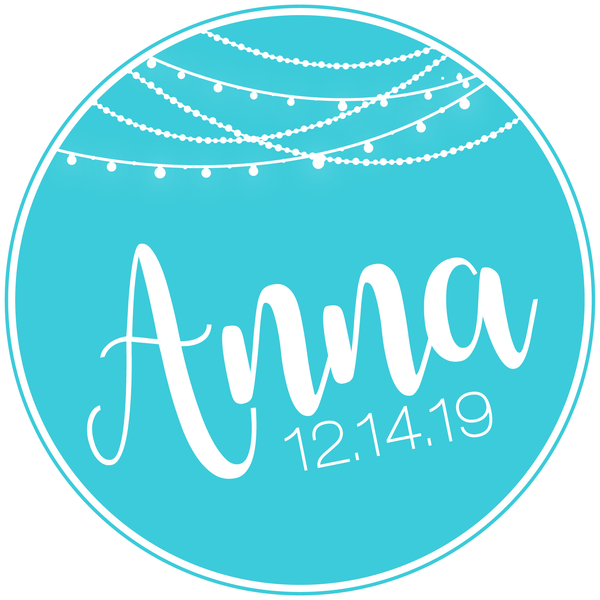 Winter Lights Bat Mitzvah Logo