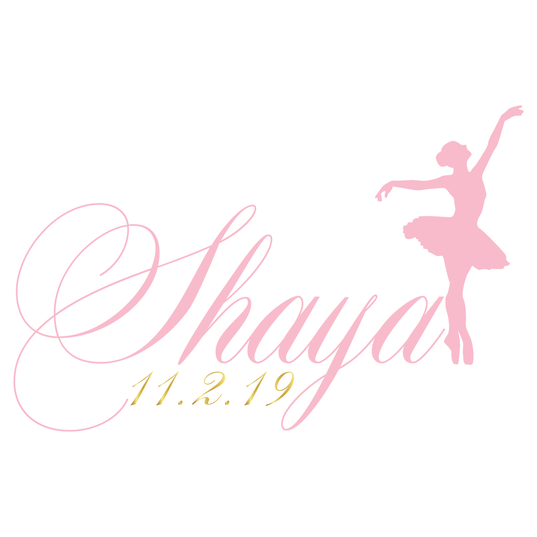 Ballet All Day Bat Mitzvah Logo