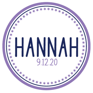 star bat mitzvah logo design