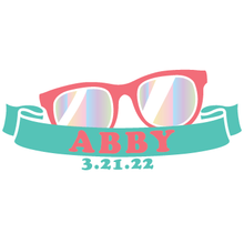 Load image into Gallery viewer, Sunglass Sass Summer Mitzvah Logo