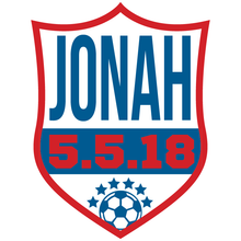 Load image into Gallery viewer, Soccer Bar Mitzvah Logo Design