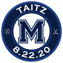 Load image into Gallery viewer, All In Sports Bar and Bat Mitzvah Logo