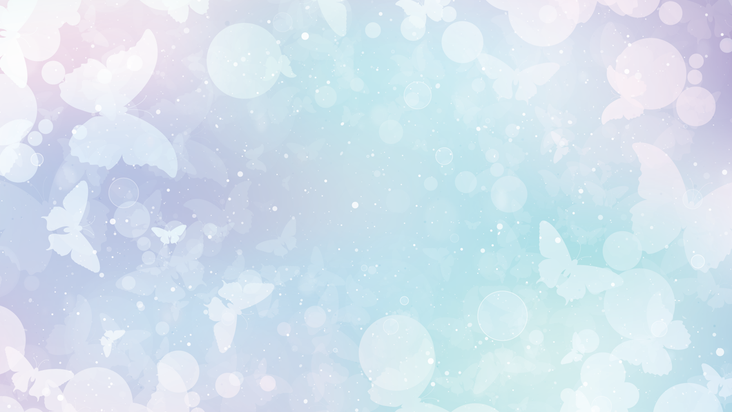 Butterfly Zoom Mitzvah Background
