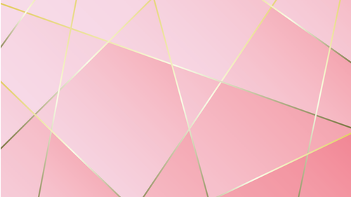 Geometric Rose Gold Zoom Mitzvah Background