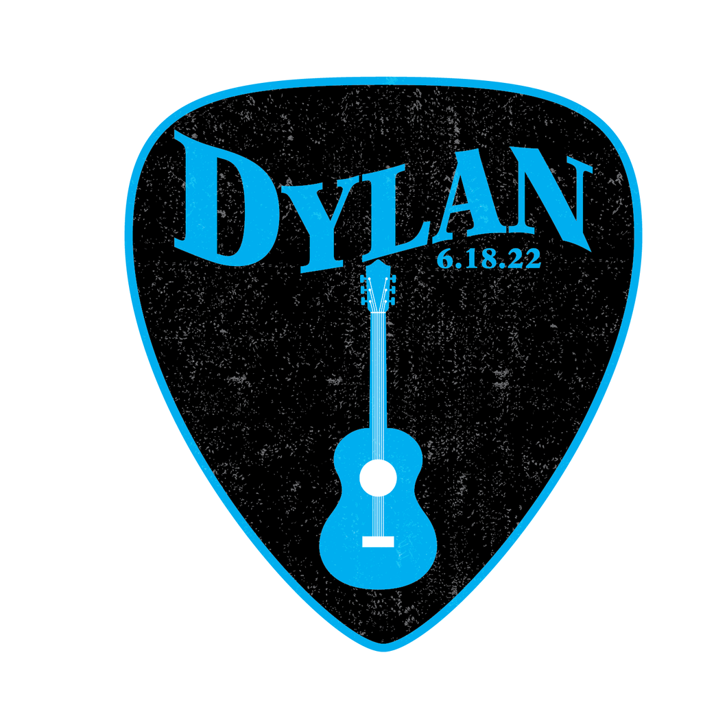 Guitar Bar Mitzvah Logo Design