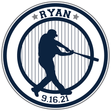 Load image into Gallery viewer, Sports Baseball Bar Mitzvah Logo Design