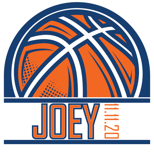 Sports Basketball Bar Bat Mitzvah Logo Design