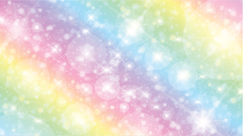 Rainbow  Zoom Mitzvah Background