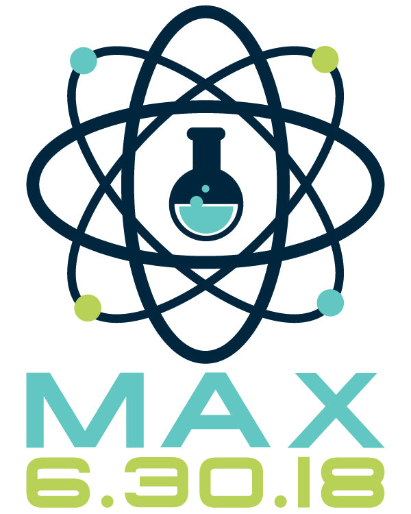 Science Bar and Bat Mitzvah Logo Design