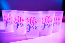 Load image into Gallery viewer, Custom Shatterproof Frosted Cup Bar and Bat Mitzvah