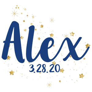Reach for the Stars Bat Mitzvah Logo