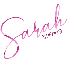 Load image into Gallery viewer, Bat Mitzvah Logo Design