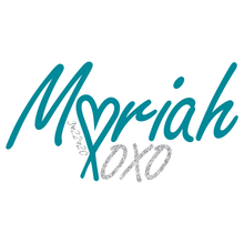 Load image into Gallery viewer, XOXO Bat Mitzvah Logo