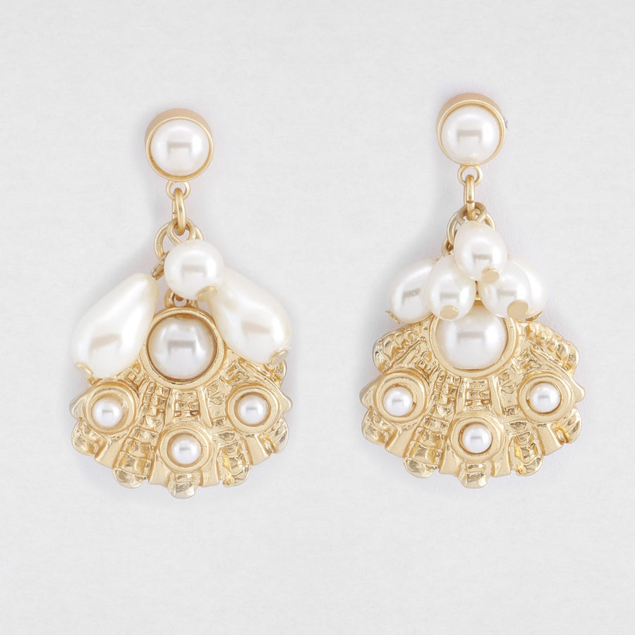 Attina Shell Earrings