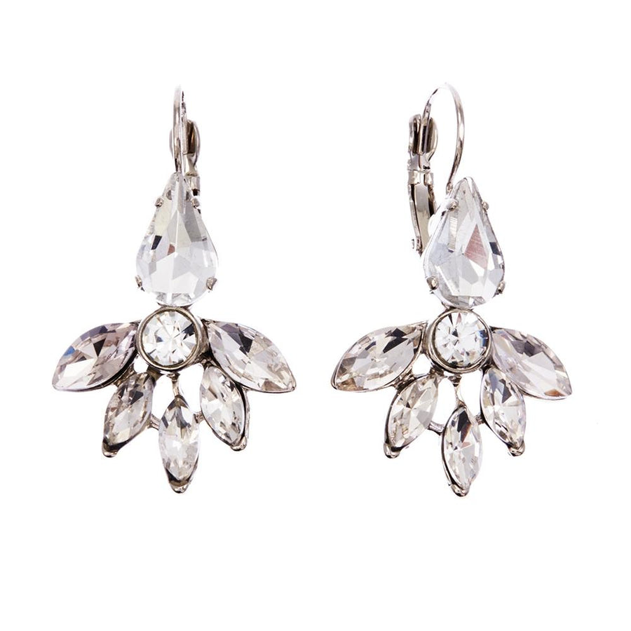 Faustina Earrings Clear