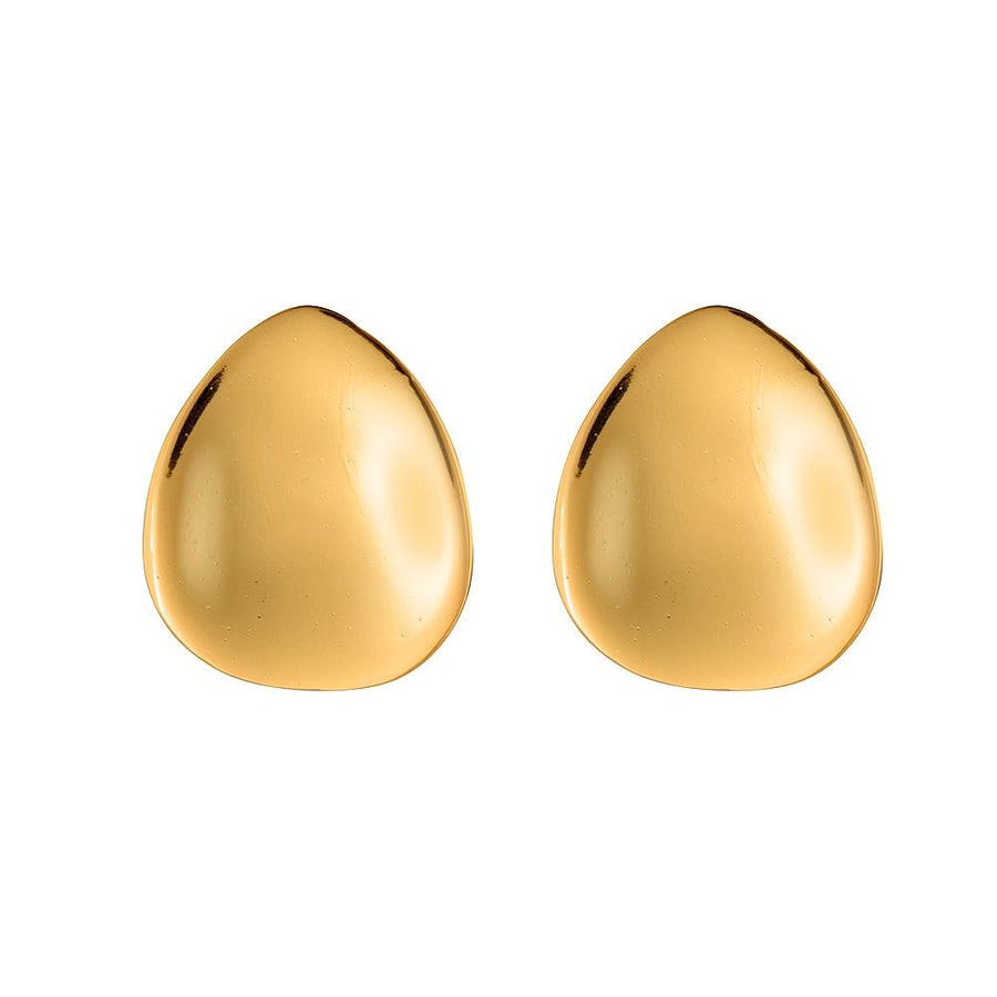 Maisie Satin Gold Earrings