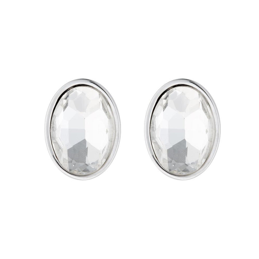 Clear Belva Earrings