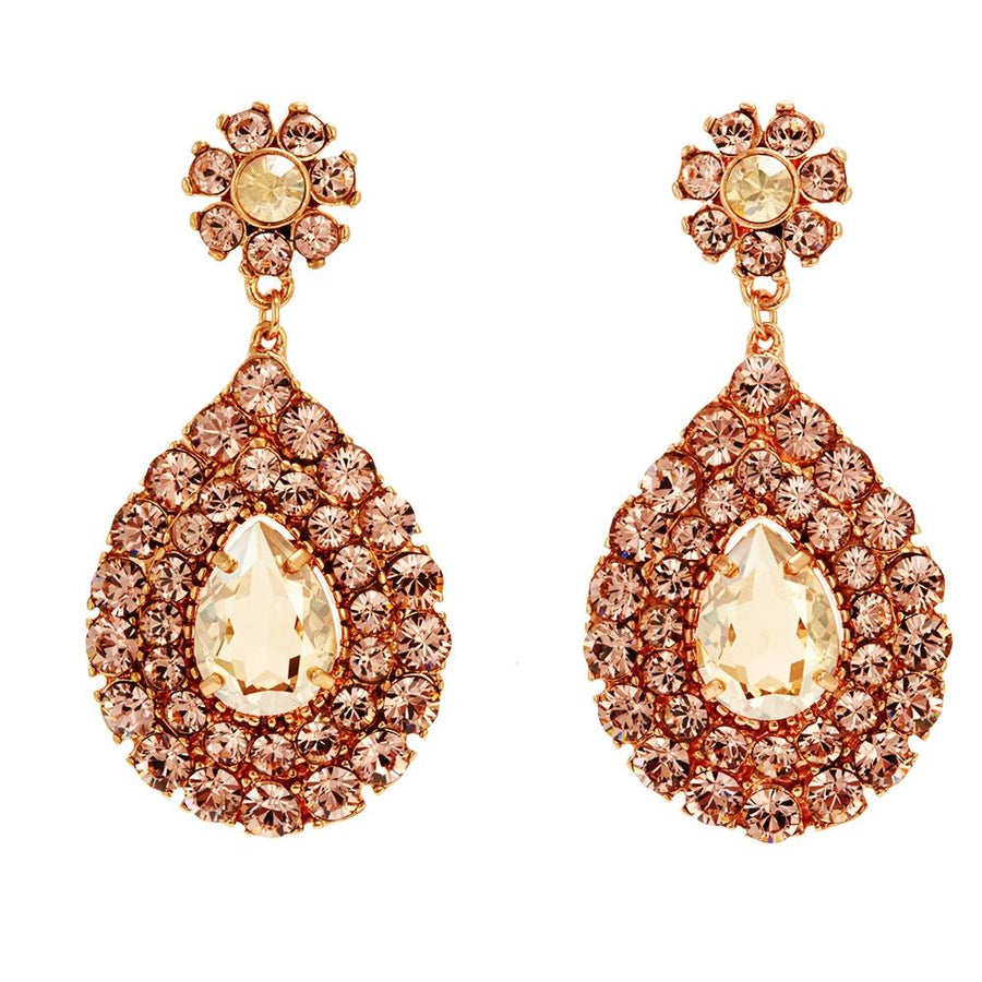 Maya Rose Gold Earrings