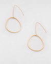 Finley Earrings Satin Gold