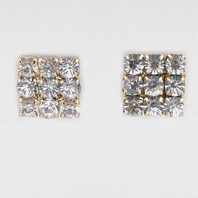 Elisa Clear Earrings