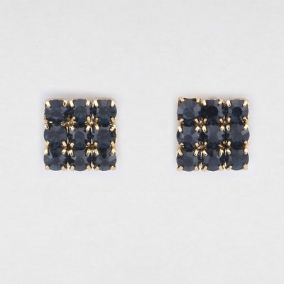 Elisa Navy Earrings