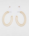 Papi Oval Hoops