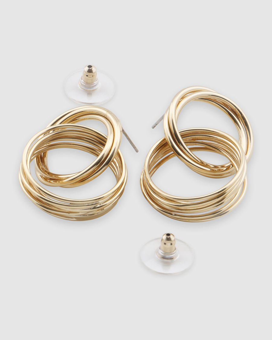 Moree Drop Hoop Earring