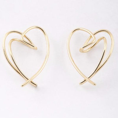 Fatiha Heart Earrings